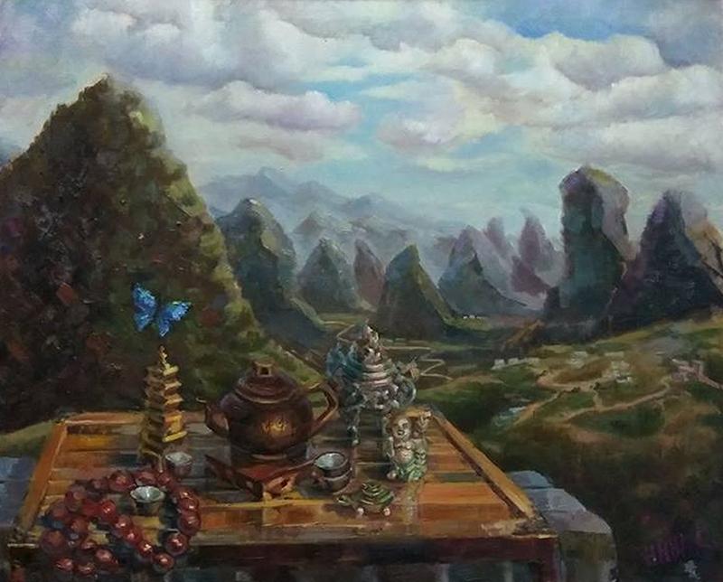Чаепитие в Яншо