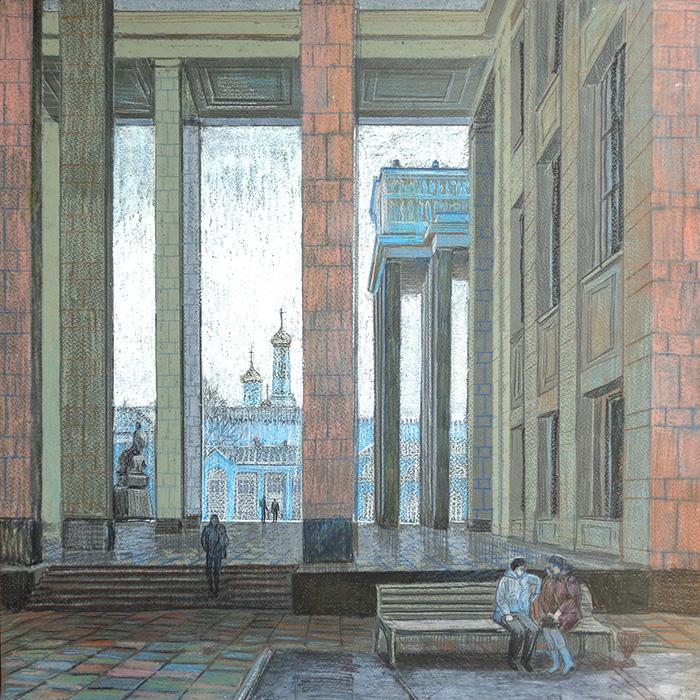 Вид на Кремль с Библиотеки