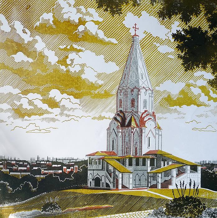 Коломенское. Храм Вознесения