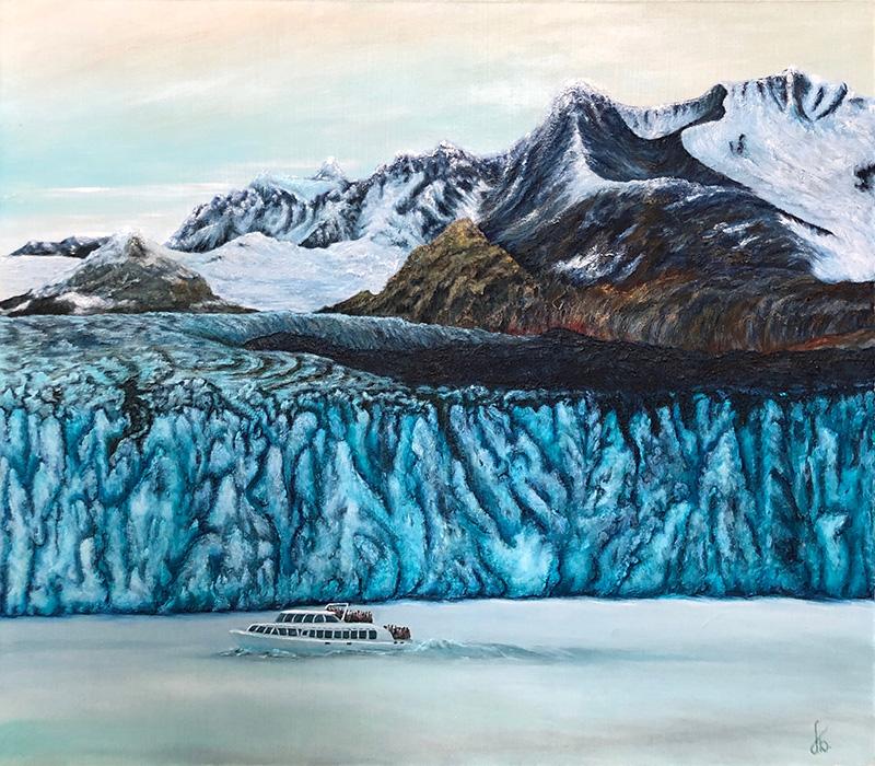 Патагония. Ледник