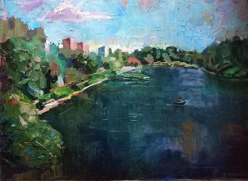 Зеленоград. Школьное озеро