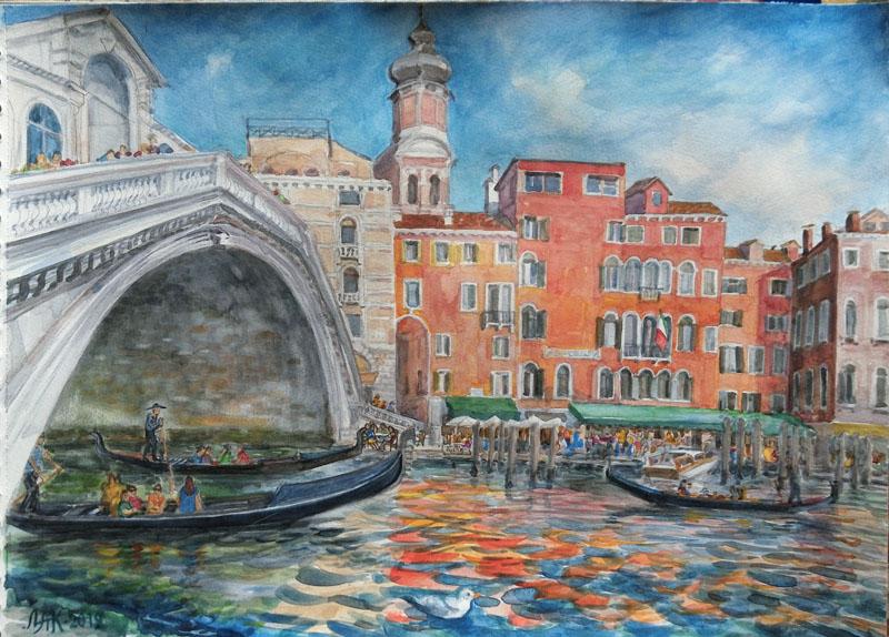 Мост Реальто. Венеция