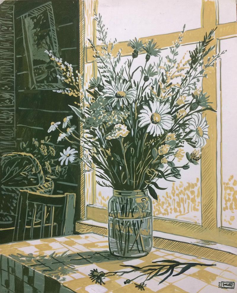 Июнь. Полевые цветы