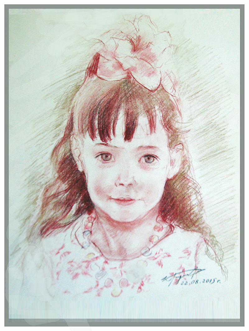 Девчурка-хризантемка