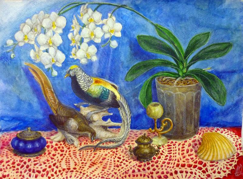 Натюрморт с фазанами