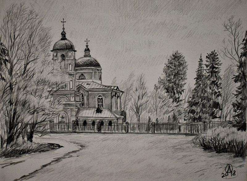 Зарисовка Зеленограда 3