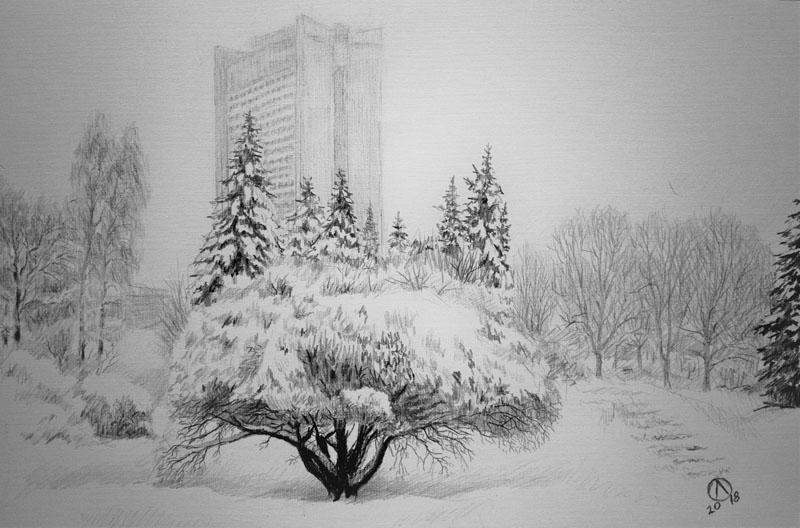 После снеговала