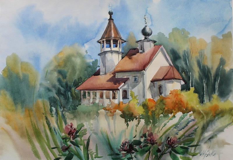 Смоленская церковь в Подолино