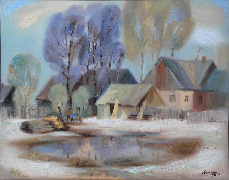 Весна в Михайловке