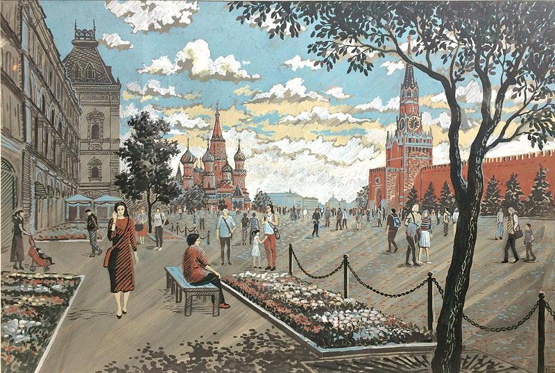 Прогулка по Красной площади 2