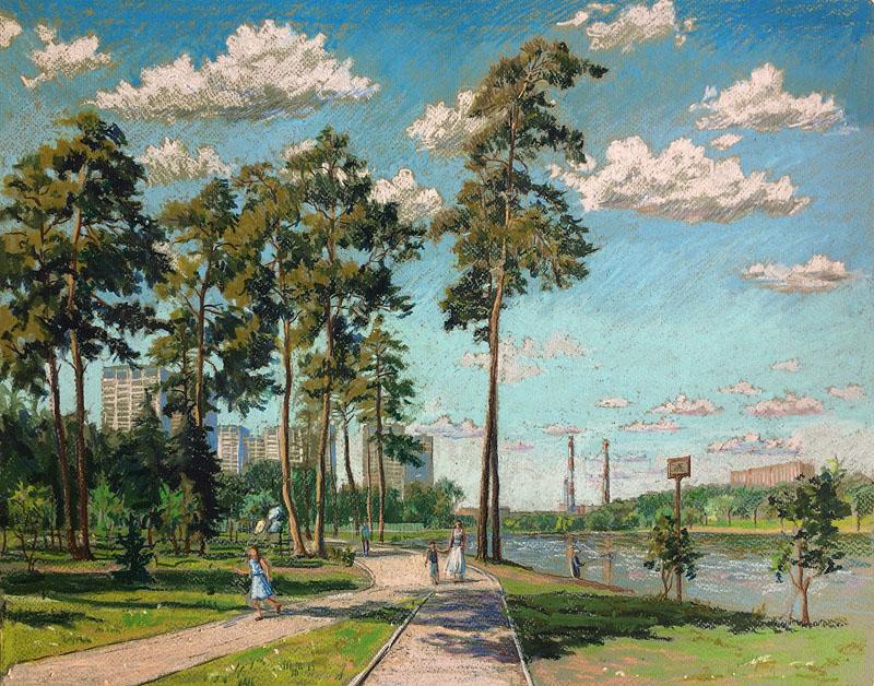 Школьное озеро. Зеленоград