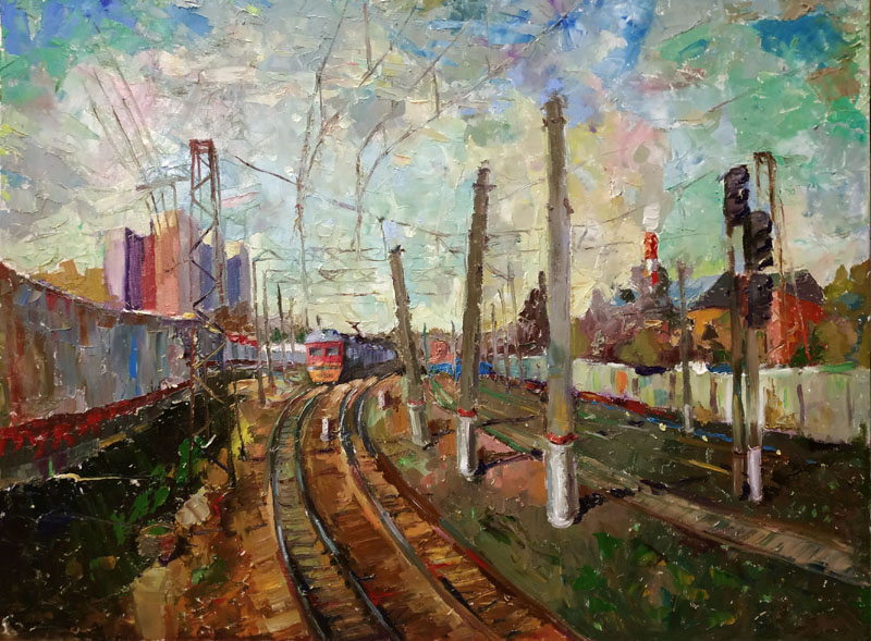 Станция Крюково. Зеленоград