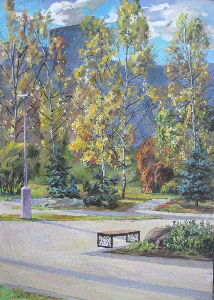 Осень в парке. 16 район