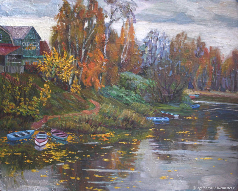 Осень. Нижний Каменский пруд